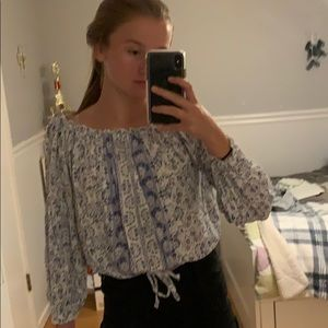 Hollister blouse top